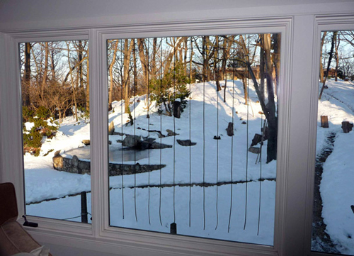 Prevent Birds From Hitting Windows With These Products BirdWatching - Window decals deter birds