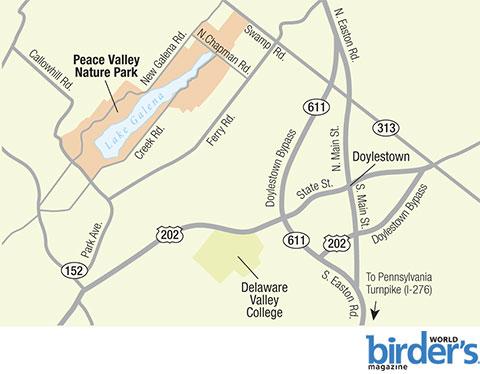12. Peace Valley Nature Park, Doylestown, Pennsylvania