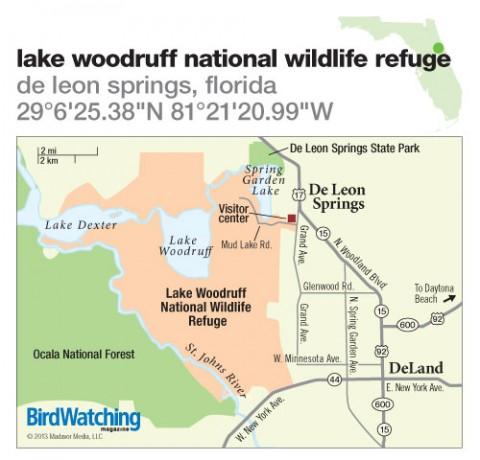 174. Lake Woodruff National Wildlife Refuge, De Leon Springs, Florida