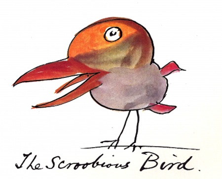 The Scroobious Bird, by Edward Lear