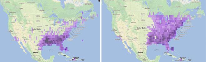 Pine-Warbler-maps