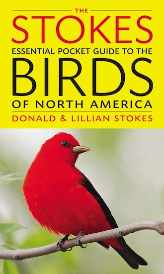 The Stokes Essential Pocket Guide to the Birds of North America, by Donald and Lillian Stokes.